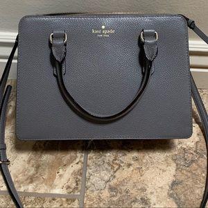 Kate Spade gray handbag